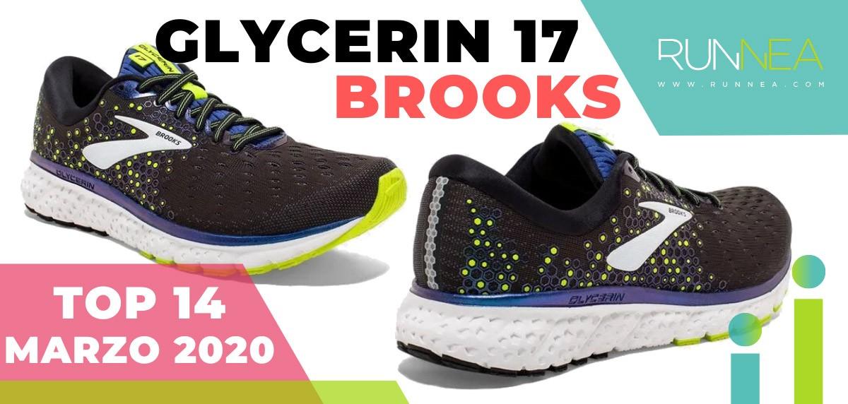 Top 15 de las zapatillas de running más vendidas en marzo 2020 en Runnea - Brooks Glycerin 17