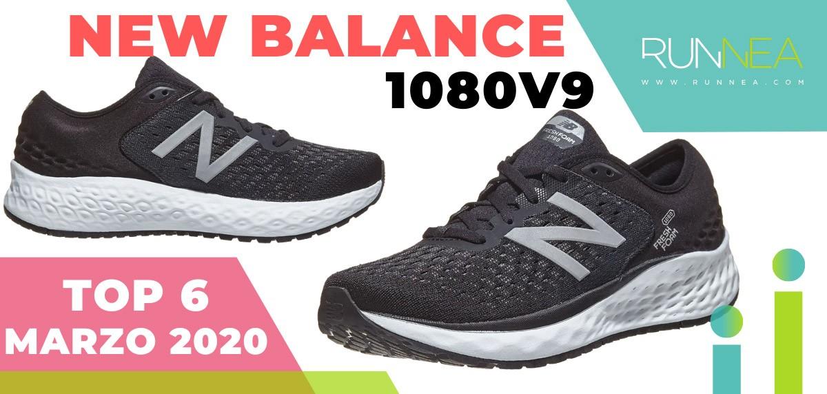 Top 15 de las zapatillas de running más vendidas en marzo 2020 en Runnea - New Balance Fresh Foam 1080 v9