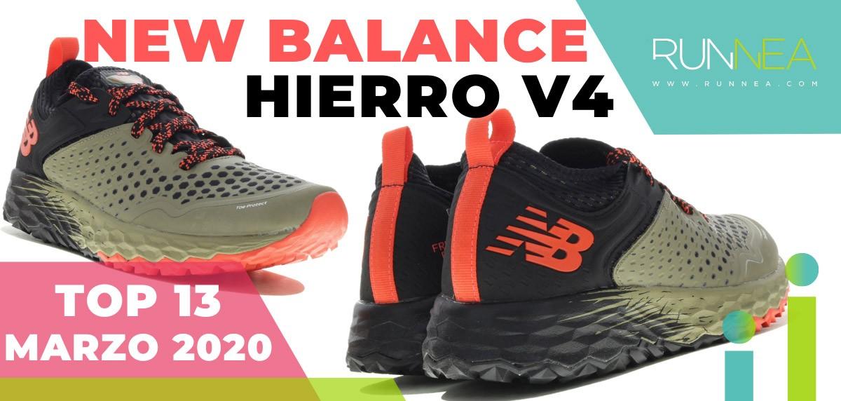 Top 15 de las zapatillas de running más vendidas en marzo 2020 en Runnea - New Balance Fresh Foam Hierro