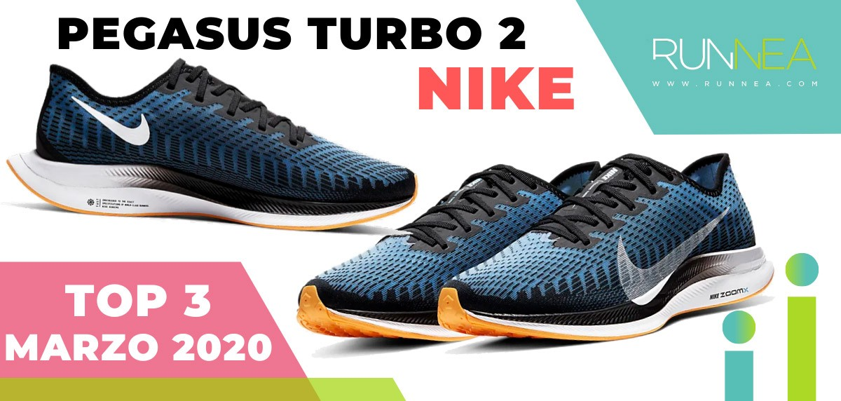 Top 15 de las zapatillas de running más vendidas en marzo 2020 en Runnea - Nike Pegasus Turbo 2