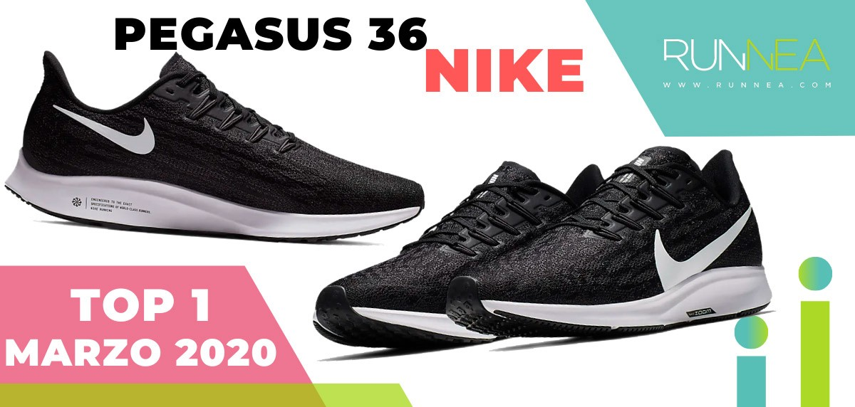 Top 15 de las zapatillas de running más vendidas en marzo 2020 en Runnea - Nike Pegasus 36