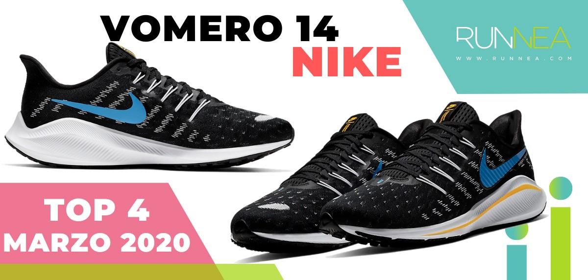 Top 15 de las zapatillas de running más vendidas en marzo 2020 en Runnea - Nike Vomero 14