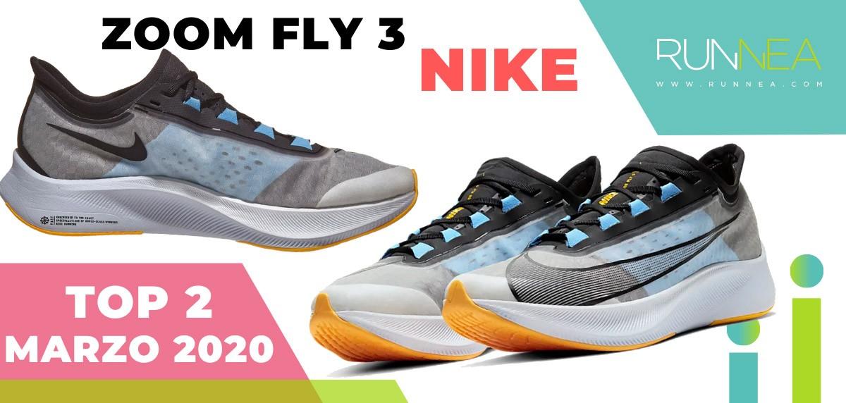 Top 15 de las zapatillas de running más vendidas en marzo 2020 en Runnea - Nike Zoom Fly 3
