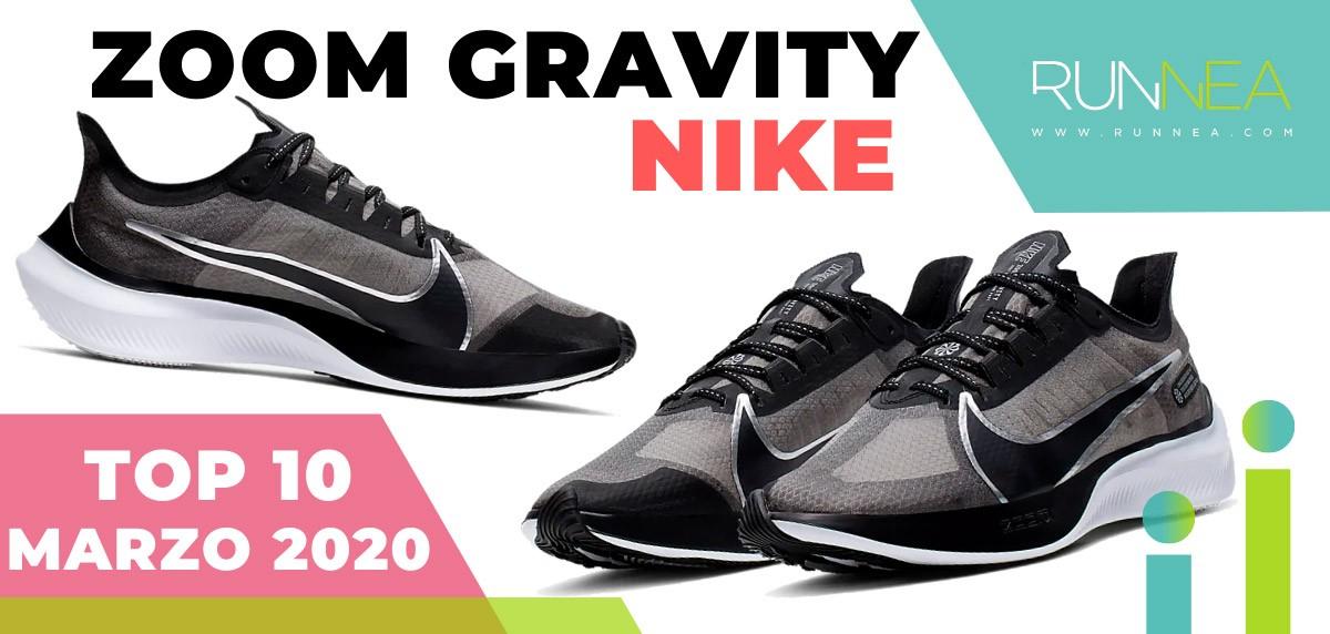 Top 15 de las zapatillas de running más vendidas en marzo 2020 en Runnea - Nike Zoom Gravity