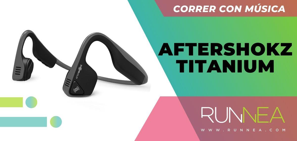 Los 10 auriculares deportivos de gama alta que están a buen precio, Aftershokz Titanium