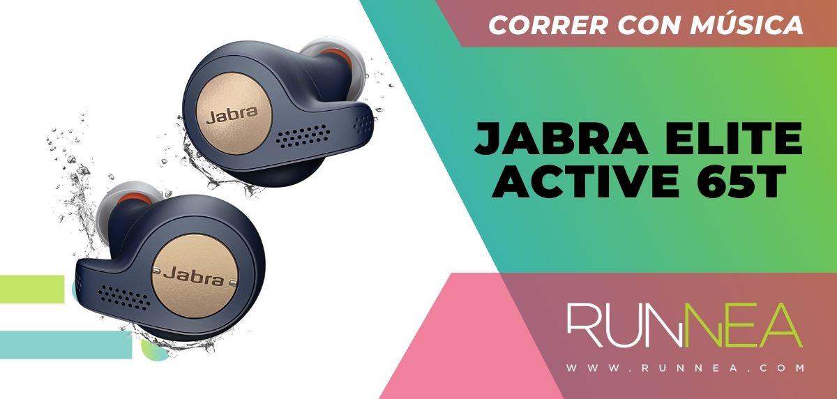Los 10 auriculares deportivos de gama alta que están a buen precio, Jabra Elite Active 65t