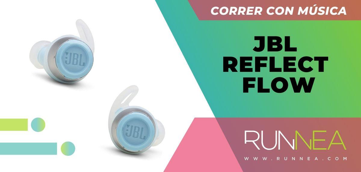 Los 10 auriculares deportivos de gama alta que están a buen precio, JBL Reflect Flow