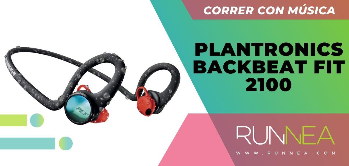 Los 10 auriculares deportivos de gama alta que están a buen precio, Plantronics BackBeat Fit 2100