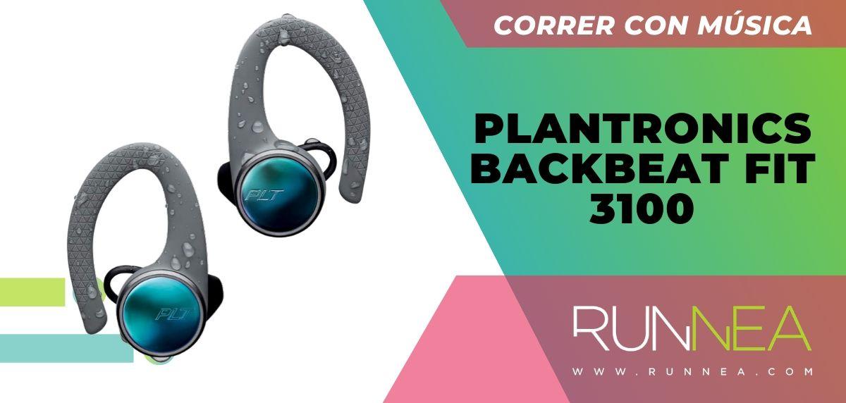 Los 10 auriculares deportivos de gama alta que están a buen precio, Plantronics BackBeat Fit 3100