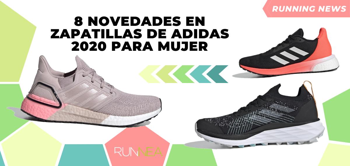 novedades en zapatillas de Adidas 2020 para mujer