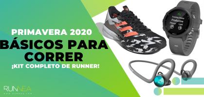 Los 13 imprescindibles de Runnea para correr esta Primavera 2020: ¡Kit completo de runner!