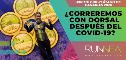 Ganas de volver a ponernos un dorsal para el Circuito Nacional de Running Plátano de Canarias 2020