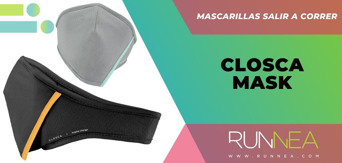 Las mejores mascarillas para salir a correr - Closca Mask
