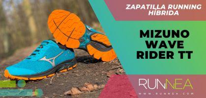 Mizuno Wave Rider TT: 4 detalles que no conoces de estas zapatillas de running