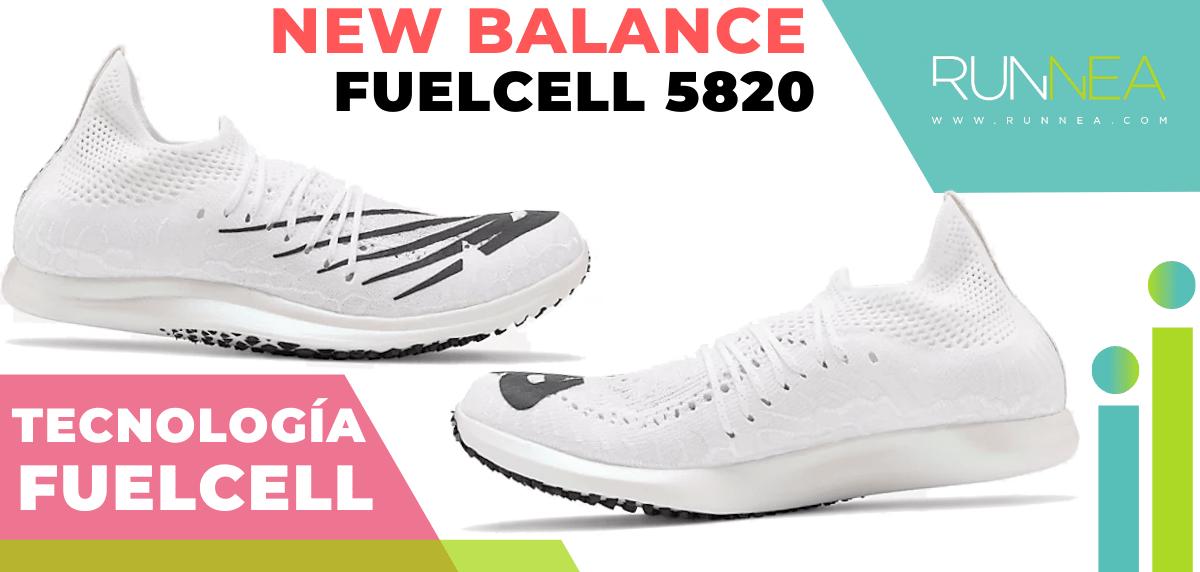 Zapatillas de running New Balance con tecnología FuelCell - New Balance FuelCell 5820