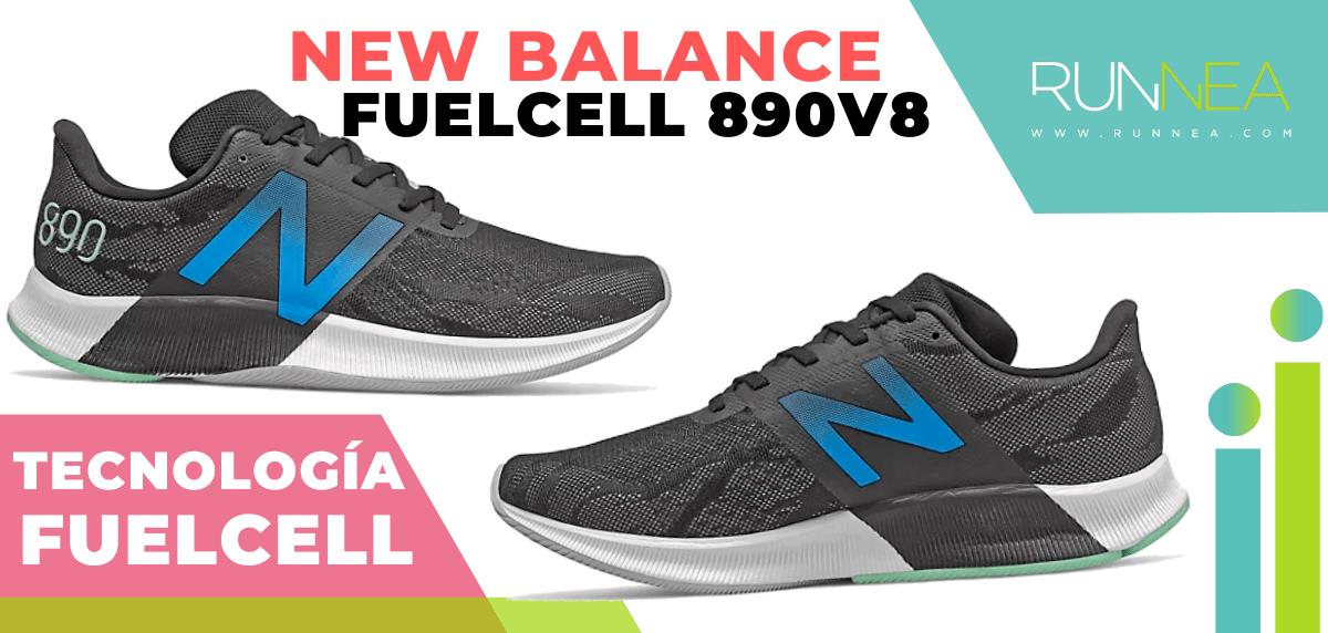 Zapatillas de running New Balance con tecnología FuelCell - New Balance FuelCell 890 v8