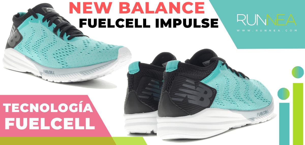 Zapatillas de running New Balance con tecnología FuelCell - New Balance FuelCell Impulse