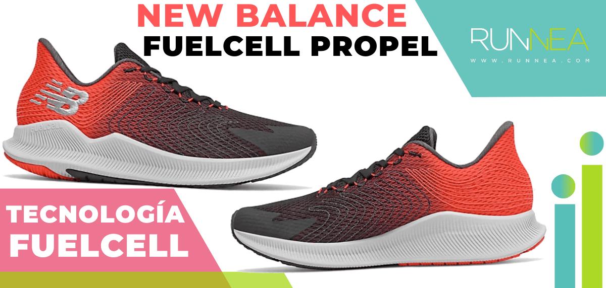 Zapatillas de running New Balance con tecnología FuelCell - New Balance FuelCell Propel
