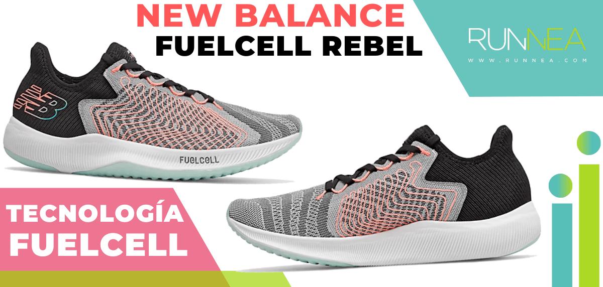 Zapatillas de running New Balance con tecnología FuelCell - New Balance FuelCell Rebel