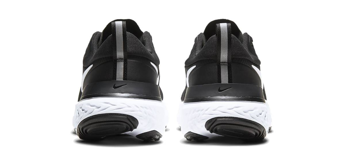 Nike React Miler, talón