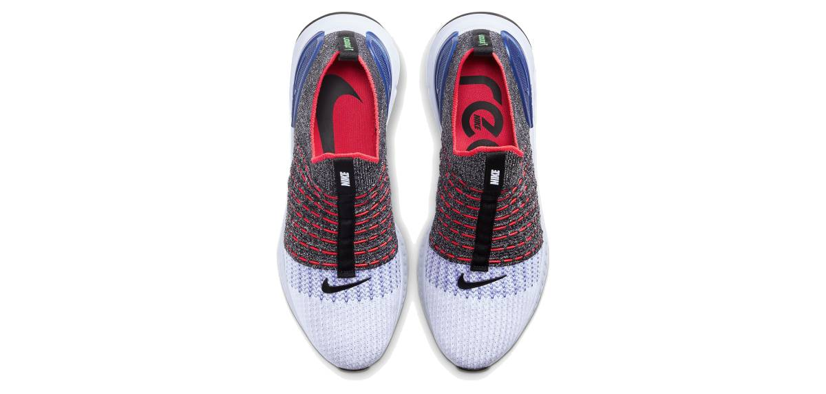 Nike React Phantom Run Flyknit 2, upper