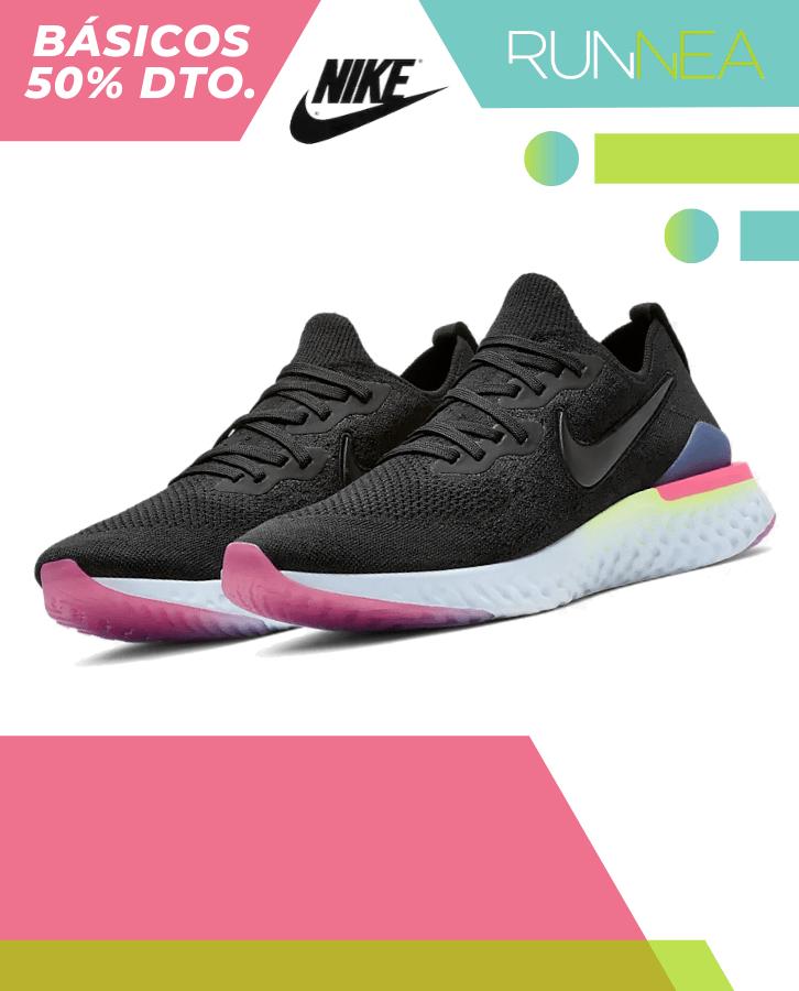 simbólico eficaz borde  Nike Epic React Flyknit 2 en oferta y rebajas   Runnea