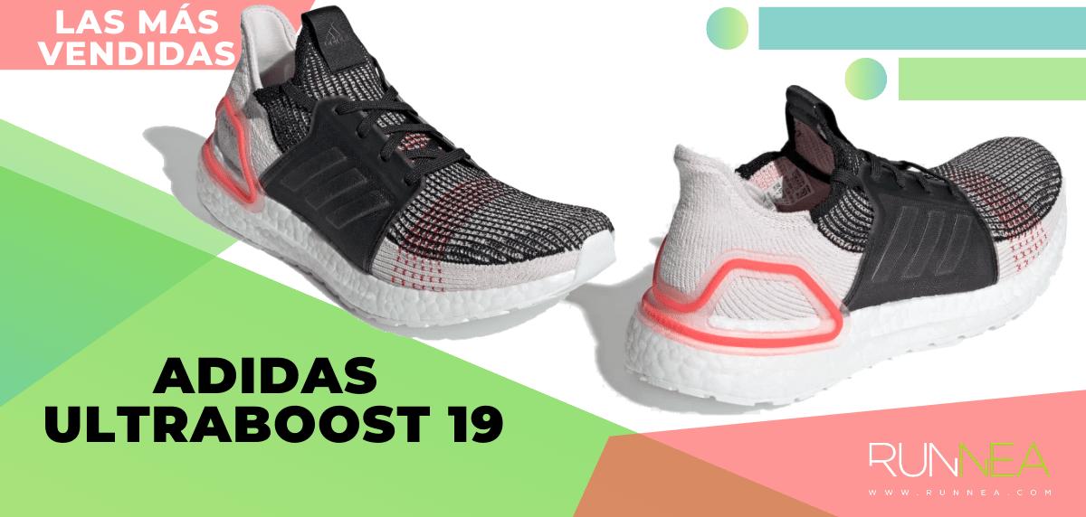 Zapatillas de running para correr asfalto más vendidas - adidas Ultraboost 19