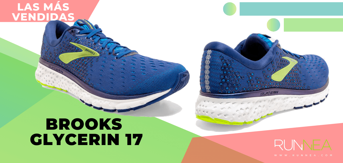 Zapatillas de running para correr asfalto más vendidas - Brooks Glycerin 17