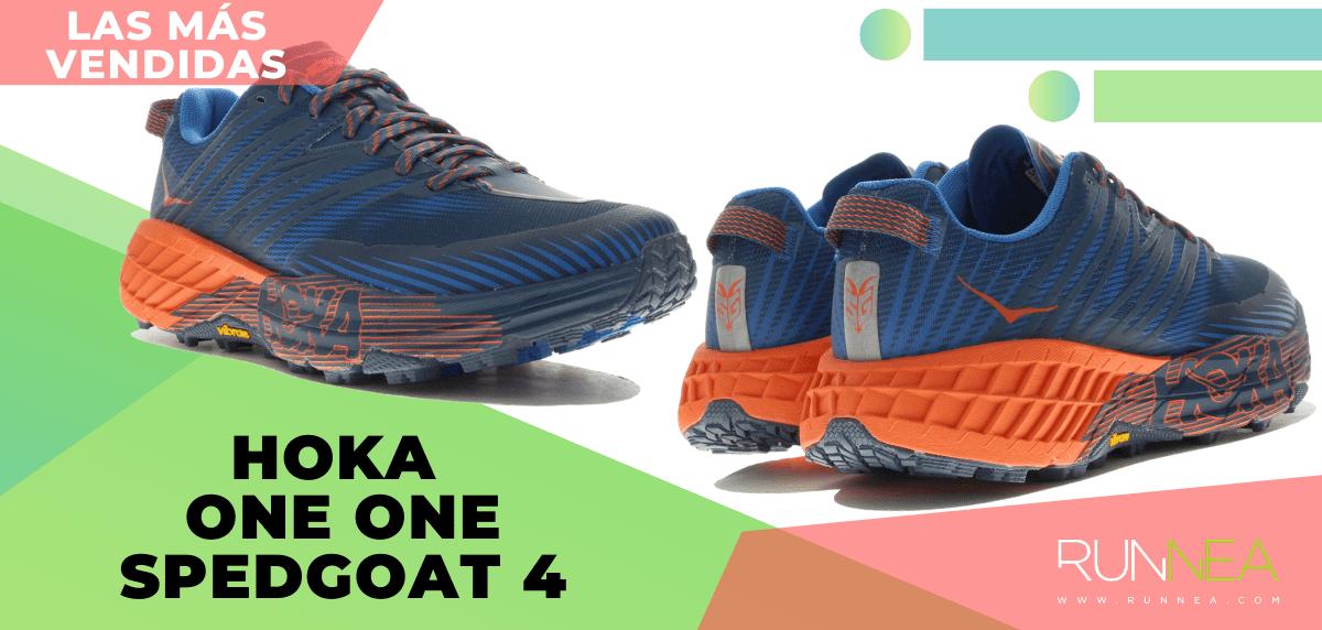 Zapatillas de trail running más vendidas del momento en tiempo de Cuarentena - Hoka One One Speedgoat 4