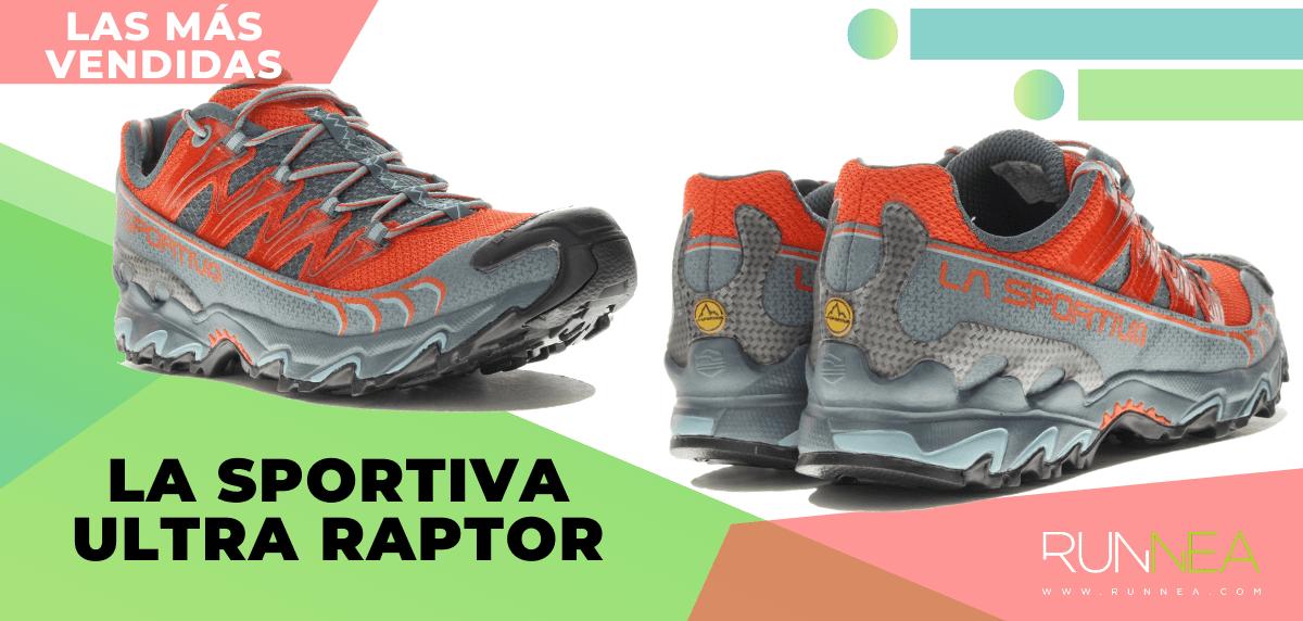 Zapatillas de trail running más vendidas del momento en tiempo de Cuarentena - La Sportiva Ultra Raptor