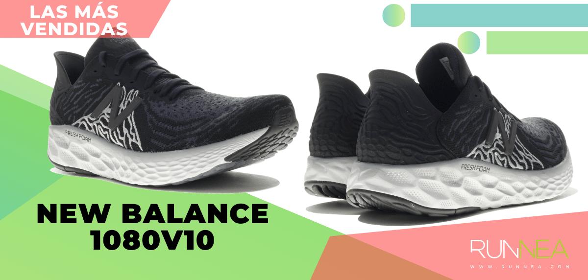 Zapatillas de running para correr asfalto más vendidas - New Balance Fresh Foam 1080 v10
