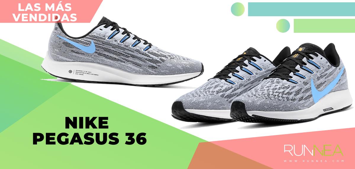 Zapatillas de running para correr asfalto más vendidas - Nike Pegasus 36