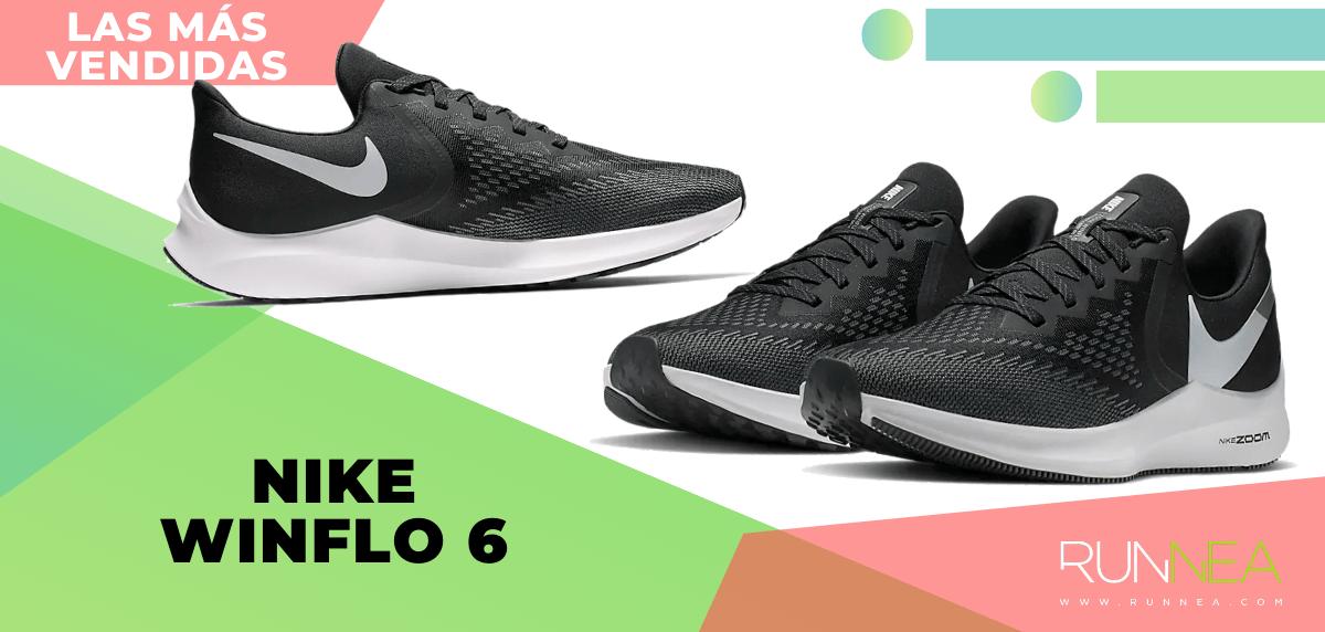 Zapatillas de running para correr asfalto más vendidas - Nike Winflo 6