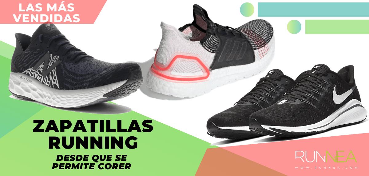 Las zapatillas de running más vendidas desde que está