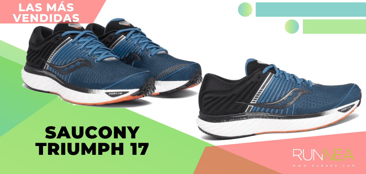 Zapatillas de running para correr asfalto más vendidas - Saucony Triumph 17