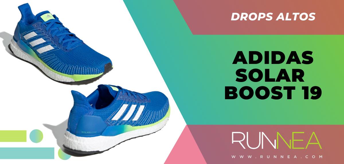 Recomendaciones de zapatillas con mayor grado de protección en el talón - adidas solar boost 19