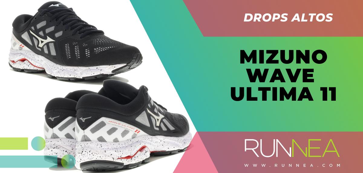 Recomendaciones de zapatillas con mayor grado de protección en el talón - Mizuno Ultima 11