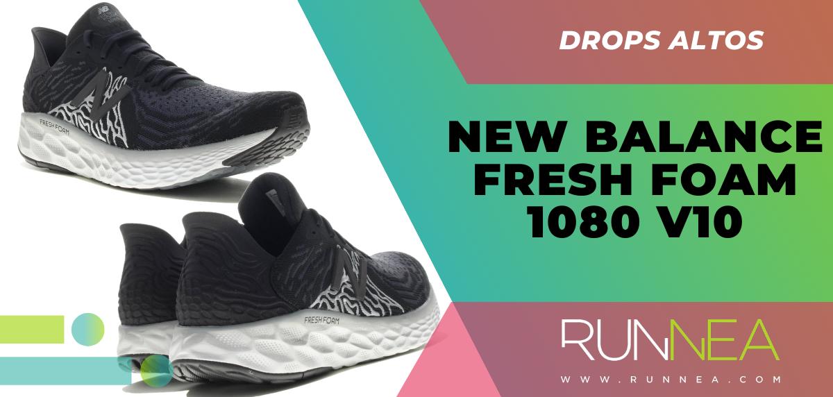 Recomendaciones de zapatillas con mayor grado de protección en el talón - New Balance Fresh Foam 1080v10