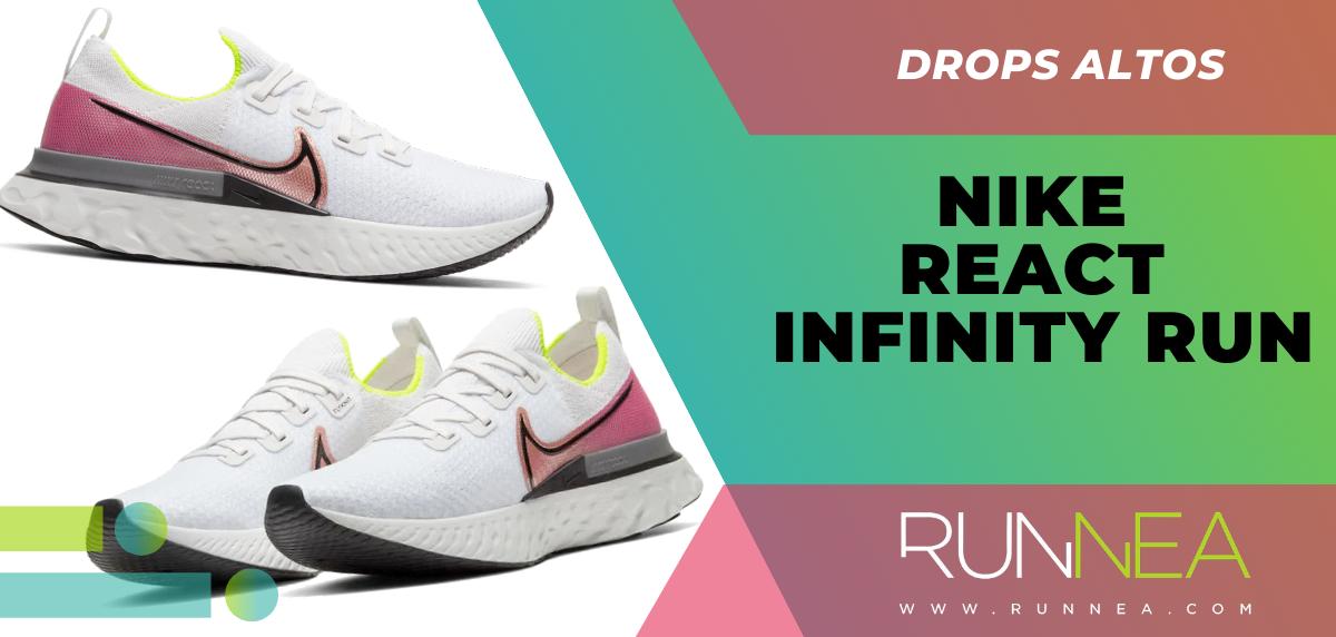 Recomendaciones de zapatillas con mayor grado de protección en el talón - Nike React Infinity Run
