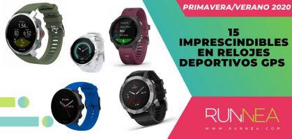 Los 15 imprescindibles en relojes deportivos GPS de la primavera/verano 2020