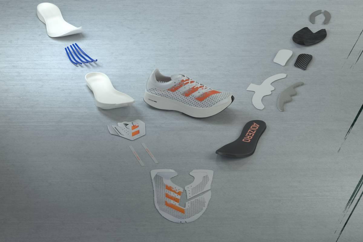 Adidas Adizero Adios Pro, tecnologías