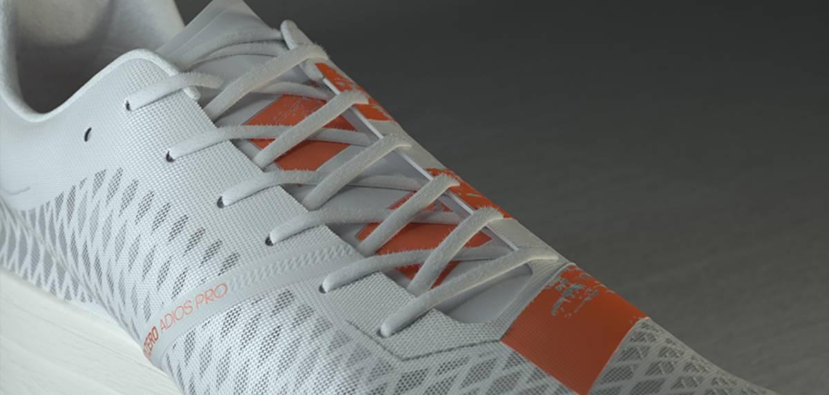 Adidas Adizero Adios Pro, upper
