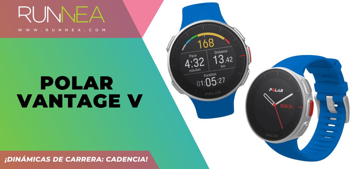 3 relojes deportivos GPS que incluyen la cadencia - Polar Vantage V