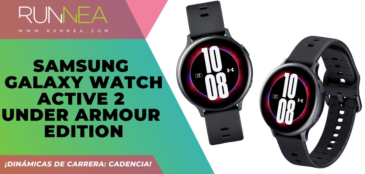 3 relojes deportivos GPS que incluyen la cadencia - Samsung Galaxy Watch Active 2