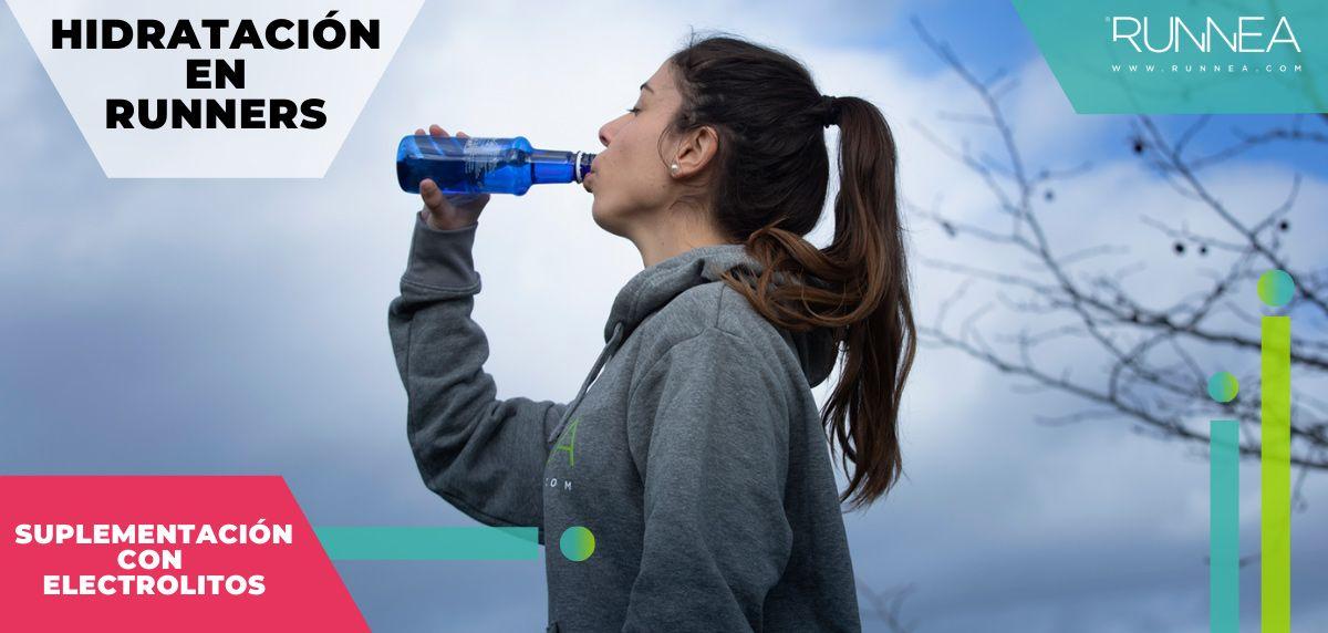 Hidratación durante y después de correr...¡cuando el agua solo no basta!