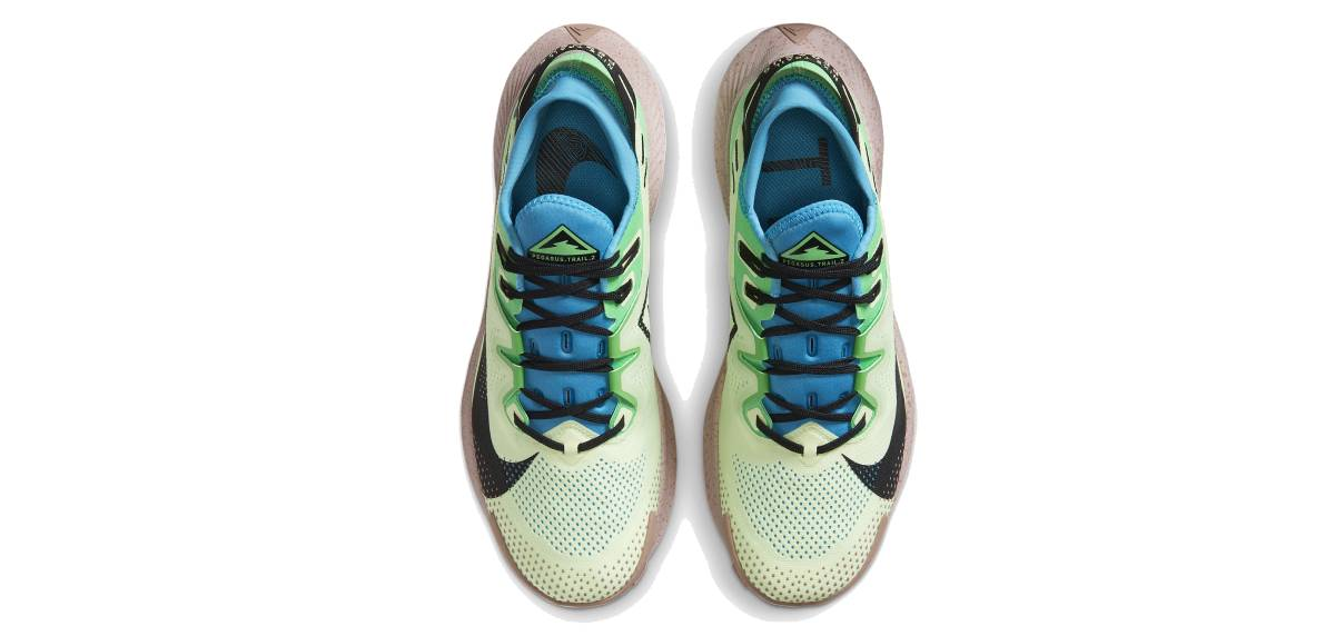 Nike Pegasus Trail 2: redescubre el trail running, upper