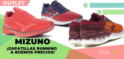 ¡Mizuno Outlet: Los 9 chollos en zapatillas por menos de 95€ y con tallas para elegir!