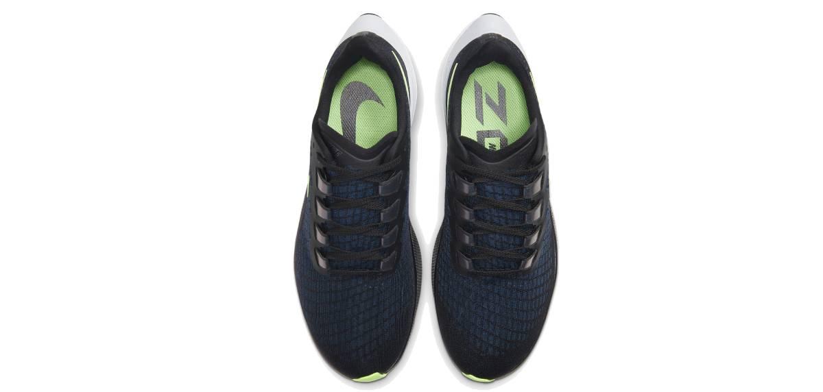 Review Nike Pegasus 37, upper ajuste
