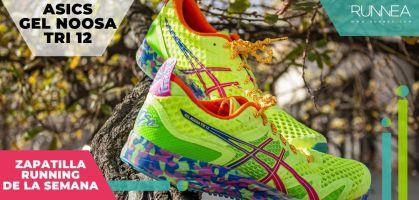 Zapatilla de la semana: ASICS Gel Noosa Tri 12, todo un mito para triatletas