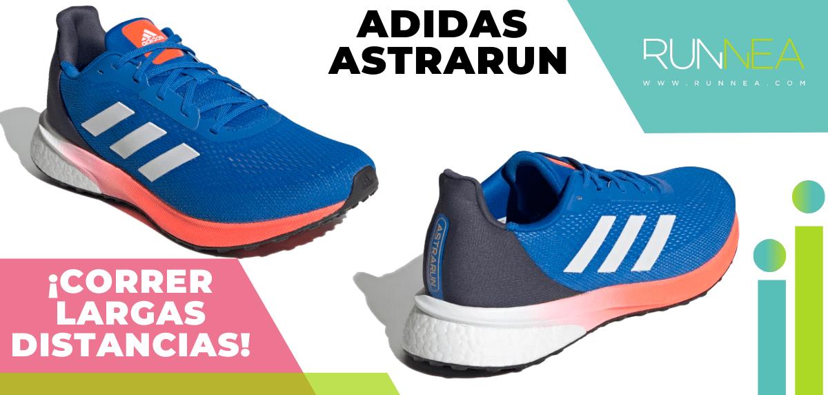 Zapatillas para correr largas distancias con buena relación calidad/precio - adidas astrarun